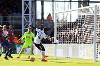 Serge Aurier of Tottenham Hotspur misses an open goal during Crystal Palace vs Tottenham Hotspur, Premier League Football at Selhurst Park on 25th February 2018