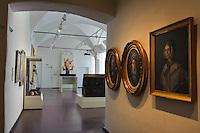 im Palast des genuesischen Gouverneurs (Museum) in der Zitadelle von Bastia, Korsika, Frankreich