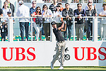 Danthai Boonma of Thailand tees off the first hole during the 58th UBS Hong Kong Golf Open as part of the European Tour on 10 December 2016, at the Hong Kong Golf Club, Fanling, Hong Kong, China. Photo by Marcio Rodrigo Machado / Power Sport Images