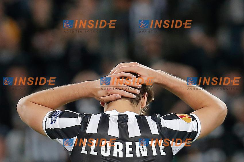 Fernando Llorente Juventus, Torino 1-5-2014, Juventus Stadium, Football Calcio 2013/2014 Europe League, Juventus - Benfica, Foto Marco Bertorello/Insidefoto