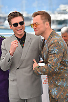 "CANNES, FRANCE. May 16, 2019: Richard Madden & Taron Egerton at the photocall for the ""Rocketman"" at the 72nd Festival de Cannes.<br /> Picture: Paul Smith / Featureflash"