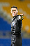 St Johnstone v Queens Park....25.09.12      Scottish Communities League Cup 3rd Round.Referee Kevin Clancy.Picture by Graeme Hart..Copyright Perthshire Picture Agency.Tel: 01738 623350  Mobile: 07990 594431