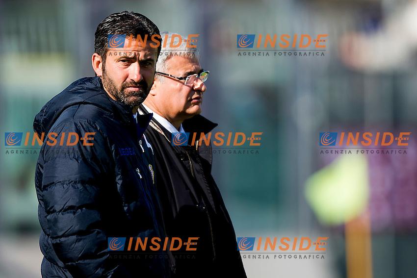 Christian Panucci Livorno<br /> Livorno 20-02-2015 Stadio Armando Picchi - Football Calcio Serie B 2015/2016 Livorno - Cesena<br /> Foto Andrea Masini / Insidefoto