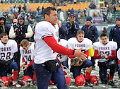 Chenango Forks Blue Devils varsity football against the Cleveland Hill Eagles during the NYSPHSAA Class-C Semifinals at Sahlen's Stadium on November 23, 2013 in Rochester, New York.  Chenango Forks defeated Cleveland Hill 22-0 to advance to the state finals.  (Copyright Mike Janes Photography)