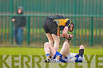 AIB GAA football all-Ireland junior club championship semi-final, Fuerty vs Keel. Held on saturday in Mick Neville Park, Rathkeale.<br />