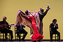 London, UK. 11.03.2014. Gala Flamenca: The Five Seasons, performed by Marco Flores, Olga Pericet, Laura Rozalen and Mercedes Ruiz, as part of the Flamenco Festival London 2014, at Sadler's Wells. Picture shows: Olga Pericet and Laura Rozalen. Photograph © Jane Hobson.