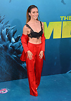 "LOS ANGELES, CA - August 06, 2018: Alyson Stoner at the US premiere of ""The Meg"" at the TCL Chinese Theatre"