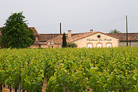Chateau la Pointe and vineyard Pomerol Bordeaux Gironde Aquitaine France