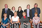 SANTA'S UNION: Enjoying the annual SPITU Christmas party in the Mount Brandon hotel conference centre Tralee last Saturday night were. Seated l-r: Francis Moriarty, Ann Ross, Bernadine Divane and Rita O Sullivan. Back l-r: Tom Moriarty, Francis Sheehy, Grace Clifford, John O Sullivan and Mike Divane.   Copyright Kerry's Eye 2008