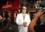 SIOUX FALLS, SD - JULY 20: KISS member Paul Stanley talks with the media at the Brennan Rock & Roll Academy Saturday afternoon in Sioux Falls.  (Photo by Dave Eggen/Inertia)