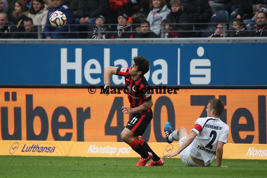 Nelson Valdez (Eintracht) - Eintracht Frankfurt vs. SC Paderborn 07, Commerzbank Arena