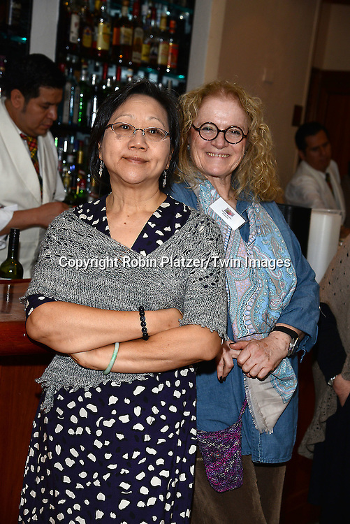 Norine Grodin and attends the Big Apple Knitters Guild Luncheon on September 20, 2014 at Maloney &amp; Porcelli in New York City. <br /> <br /> photo by Robin Platzer/Twin Images<br />  <br /> phone number 212-935-0770