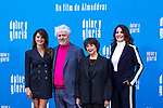 (L-R) Penelope Cruz, Pedro Almodovar, Julieta Serrano and Nora Navas attend the photocall of the movie 'Dolor y gloria' in Villa Magna Hotel, Madrid 12th March 2019. (ALTERPHOTOS/Alconada)