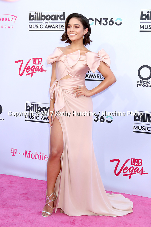 LAS VEGAS - MAY 21:  Vanessa Hudgens at the 2017 Billboard Music Awards - Arrivals at the T-Mobile Arena on May 21, 2017 in Las Vegas, NV