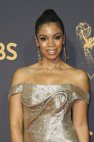 LOS ANGELES, CA - September 17: Susan Kelechi Watson at The 69th Emmy Awards At The Microsoft Theater In California on September 17, 2017. Credit: FayeS/MediaPunch
