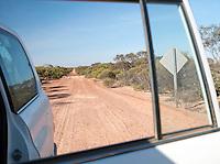 Dirt Road through the Gawler Ranges National Park, South Australia, Australia
