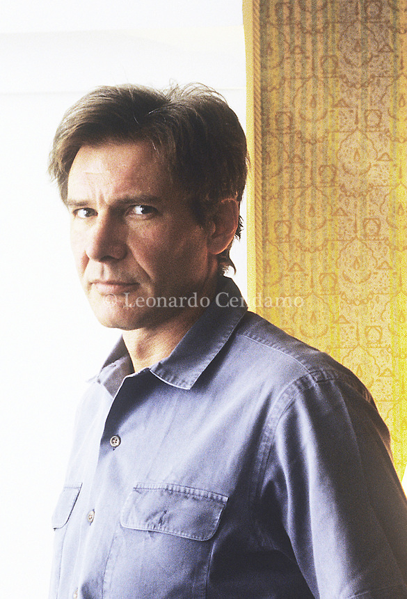 "Harrison Ford, american actor. Lido ""Venezia"" 1997.  © Leonardo Cendamo"