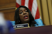 United States Representative Terri Sewell (Democrat of Alabama) questions former Trump-Russia special counsel Robert Mueller as he gives testimony before the United States House Permanent Select Committee on Intelligence on the results of his investigation on Capitol Hill in Washington, DC on Wednesday, July 24, 2019.<br /> Credit: Stefani Reynolds / CNP<br /> (RESTRICTION: NO New York or New Jersey Newspapers or newspapers within a 75 mile radius of New York City)
