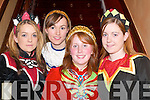 COSTUMES: Katie OSullivan, Tara ODonoghue, Olivia OSullivan and Amanda ODonoghue at The Grand Hotel, Killarney, 10th anniversary party on Wednesday night..