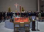 Msza święta w świątyni Opatrzności Bożej w Warszawie, Polska<br /> Mass in the Temple of Divine Providence, Warsaw, Poland
