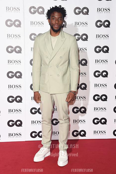 LONDON, UK. September 05, 2018: Chadwick Boseman at the GQ Men of the Year Awards 2018 at the Tate Modern, London