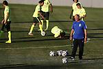 Luiz Felipe Scolari (BRA), JULY 3, 2014 - Football / Soccer : FIFA World Cup Brazil, Training session of Brazil at the Presidente Vargas stadium in Fortaleza, Brazil. (Photo by AFLO)