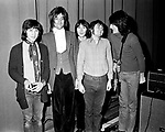 The Faces 1970 Kenney Jones, Rod Stewart, Ian McLagan, Ronnie Lane and Ron Wood.© Chris Walter.