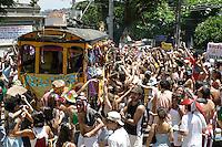 Bloco Ceu na Terra, Santa Teresa district, street Carnival of Rio de Janeiro, Brazil.
