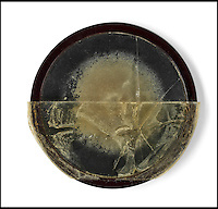 BNPS.co.uk (01202 558833)<br /> Pic: Bonhams/BNPS<br /> <br /> One of the two moulds Fleming gave to his neice Mary Anne Johnston. - Not much to look at, but his penicillin discovery has gone on to save millions of lives.<br /> <br /> Two samples of mould that Sir Alexander Fleming used to produce penicillin have emerged for sale as part of a remarkable &pound;15,000 archive relating to the legendary scientist.<br /> <br /> Both specimens of the yellow-green Penicillium Notatum fungus are contained on a glass disc and date back to the 1930s when Fleming was developing his 1928 discovery of penicillin. <br /> <br /> The treatment has gone on the save millions of lives across the world.<br /> <br /> Indeed, as part of the archive that has emerged at Bonhams is a poignant letter of thanks from a father to the biologist for helping to save his daughter's life.