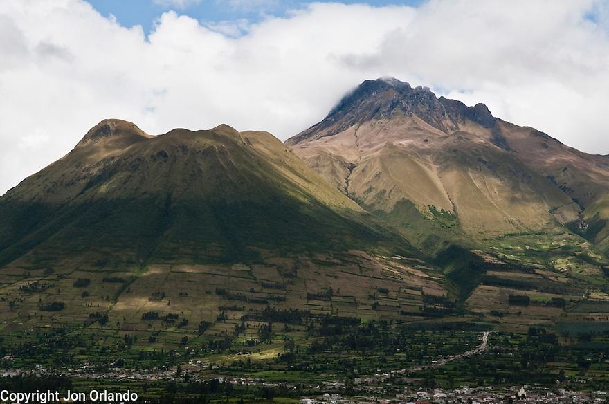 Cotacachi Volcano near Otavalo, Ecuador.