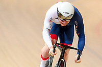 Picture by Alex Whitehead/SWpix.com - 02/03/2018 - Cycling - 2018 UCI Track Cycling World Championships, Day 3 - Omnisport, Apeldoorn, Netherlands - Jack Carlin of Great Britain in action during the Men's Sprint qualifying.