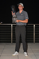 Andrew Wise (USA) and the trophy for winning the AT&T Byron Nelson, Trinity Forest Golf Club, at Dallas, Texas, USA. 5/20/2018.<br /> Picture: Golffile | Ken Murray<br /> <br /> All photo usage must carry mandatory copyright credit (© Golffile | Ken Murray)