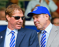 Eric and Michael Lerner, the owners of Portsmouth Football Club during Portsmouth vs Luton Town, Sky Bet EFL League 1 Football at Fratton Park on 4th August 2018