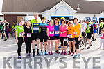 From Knocknagoshel & Brosna are runners & cyclists attending the Zoë Cycle/Run Challenge last Sunday. <br /> L-R Ruth Cahill, Norma Cahill, John Joe O' Connor, Alex O' Connor, Marguerite Cahill, Mag O' Callaghan, Majella Cahill, Eileen O' Connell & Nora O' Connor.