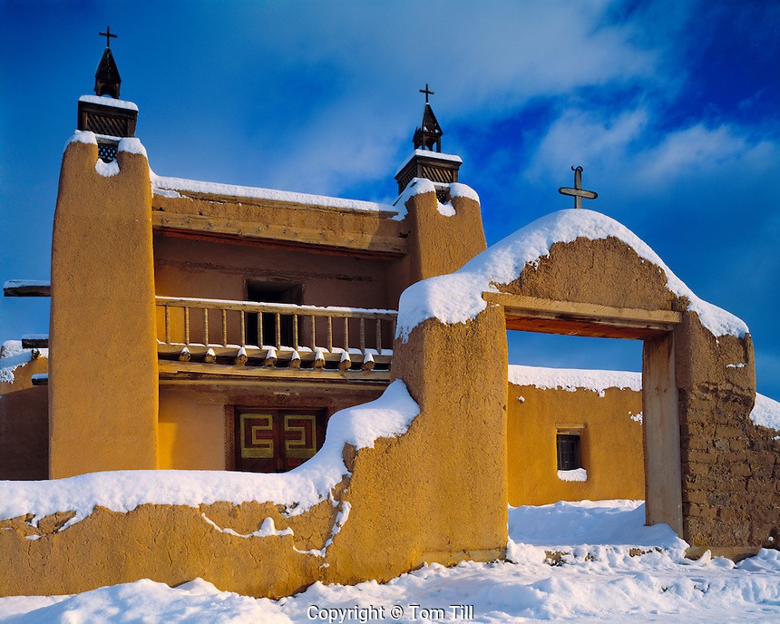 San Jose De Gracia Church, Sangre De Cristo Mountains, New Mexico