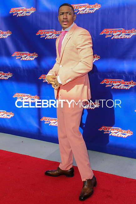 "NEWARK, NJ, USA - FEBRUARY 20: Nick Cannon at the ""America's Got Talent"" Season 9 Photo Call held at the New Jersey Performing Arts Center on February 20, 2014 in Newark, New Jersey, United States. (Photo by Jeffery Duran/Celebrity Monitor)"