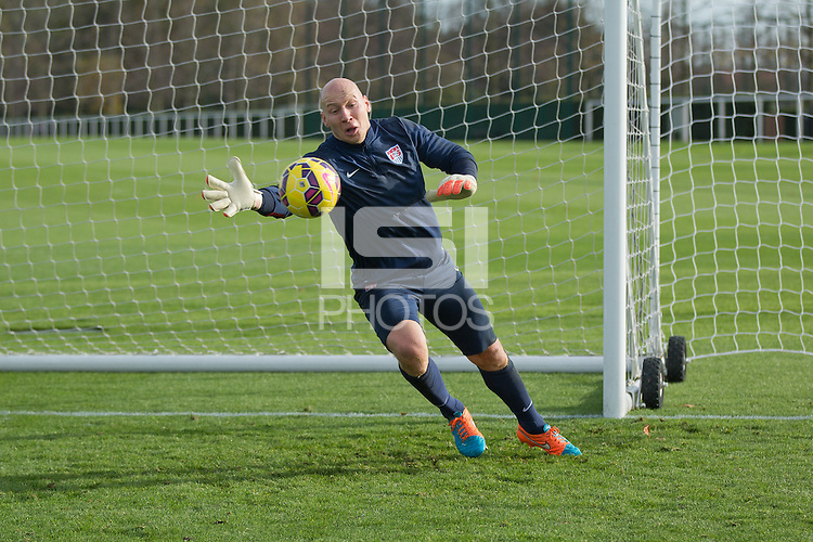 London, UK. - Tuesday, November 11, 2014: U.S. Men's National Team Training at Tottenham Hotspur Training Centre.