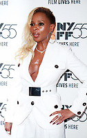 NEW YORK, NY October 12, 2017 Mary J. Blige attend 55th NYFF present  premiere of Mudbound  at Alice Tully Hall in New York October 12,  2017. Credit:RW/MediaPunch