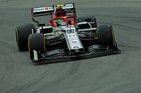 15th November 2019; Autodromo Jose Carlos Pace, Sao Paulo, Brazil; Formula One Brazil Grand Prix, Practice Day; Antonio Giovinazzi (ITA) Alfa Romeo Racing C38 - Editorial Use