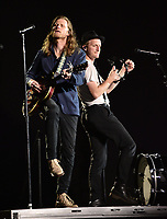 SAN FRANCISCO, CALIFORNIA - AUGUST 09: The Lumineers - Wesley Schultz and Jeremiah Fraites perform during the 2019 Outside Lands music festival at Golden Gate Park on August 09, 2019 in San Francisco, California. Photo: imageSPACE/MediaPunch<br /> CAP/MPI/ISAB<br /> ©ISAB/MPI/Capital Pictures