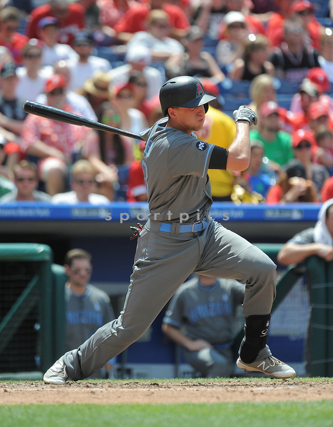 Arizona Diamondbacks Nick Ahmed (13) during a game against the Philadelphia Phillies on June 19, 2016 at Citizens Bank Park in Philadelphia, PA. The Diamondbacks beat the Phillies 3-1.