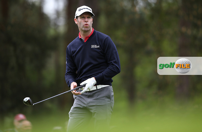 Bradley Dredge (WAL) during Round Two of the 2015 BMW PGA Championship over the West Course at Wentworth, Virginia Water, London. 22/05/2015Picture David Lloyd, www.golffile.ie.