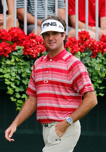 13.09.2014. Atlanta, GA, USA.   Bubba Watson in the third round of the FedEx Cup - The Tour Championship at East Lake Golf Club in Atlanta, Georgia.