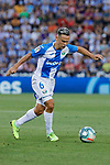 CD Leganes's Roque Mesa during La Liga match between CD Leganes and Atletico de Madrid at Butarque Stadium in Madrid, Spain. August 25, 2019. (ALTERPHOTOS/A. Perez Meca)