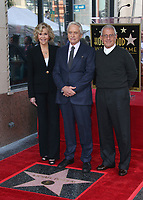 Hollywood, CA - November 06 Jane Fonda, Michael Douglas, Ron Meyer, Attends Michael Douglas Honored With Star On The Hollywood Walk Of Fame on November 06, 2018. <br /> CAP/MPI/FS<br /> &copy;FS/MPI/Capital Pictures