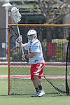 Orange, CA 05/01/10 - Matt Sathrum (Chapman # 16) in action during the LMU-Chapman MCLA SLC semi-final game in Wilson Field at Chapman University.  Chapman advanced to the final by defeating LMU 19-10.