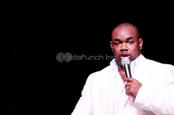 MIAMI, FL - MAY 29: Actor/Comedian Rodney Perry performs during the Best of the South Comedy Show at James L Knight Center on May 29, 2010 in Miami, Florida.  (photo by: MPI10/MediaPunch Inc.)