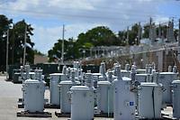 FPL crews preparing for 2019 Hurricane Dorian in Boynton Beach, Fla. on September 1, 2019.