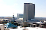 The Florida State Capitol building and Tallahassee skyline February 20, 2003.   (Mark Wallheiser/TallahasseeStock.com)