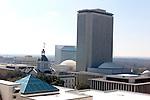 The Florida State Capitol building and Tallahassee skyline February 20, 2003.   (Mark Wallheiser/TallahasseeStock.com)